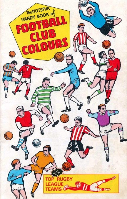 THE HOTSPUR HANDY BOOK OF FOOTBALL CLUB COLOURS