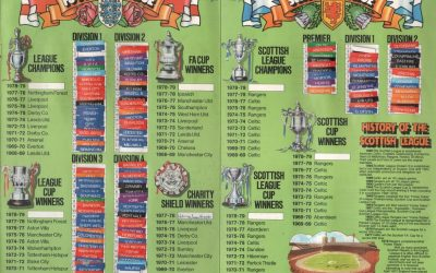 MORE LEAGUE LADDERS!