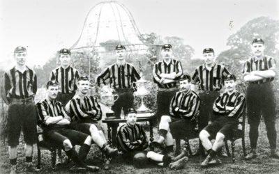 FA CUP 1892-93. THE FALLOWFIELD FOLLY