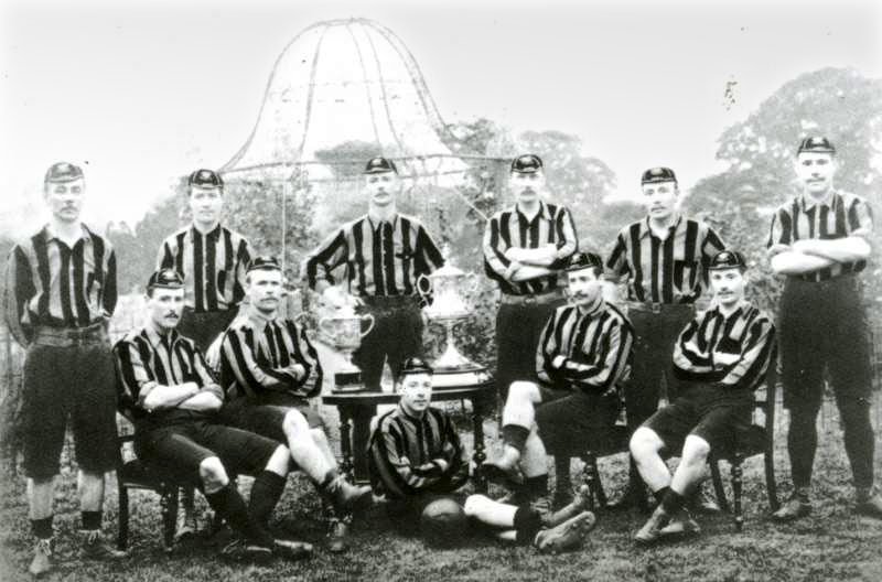 FA CUP 1892-93. THE FALLOWFIELD FOLLY