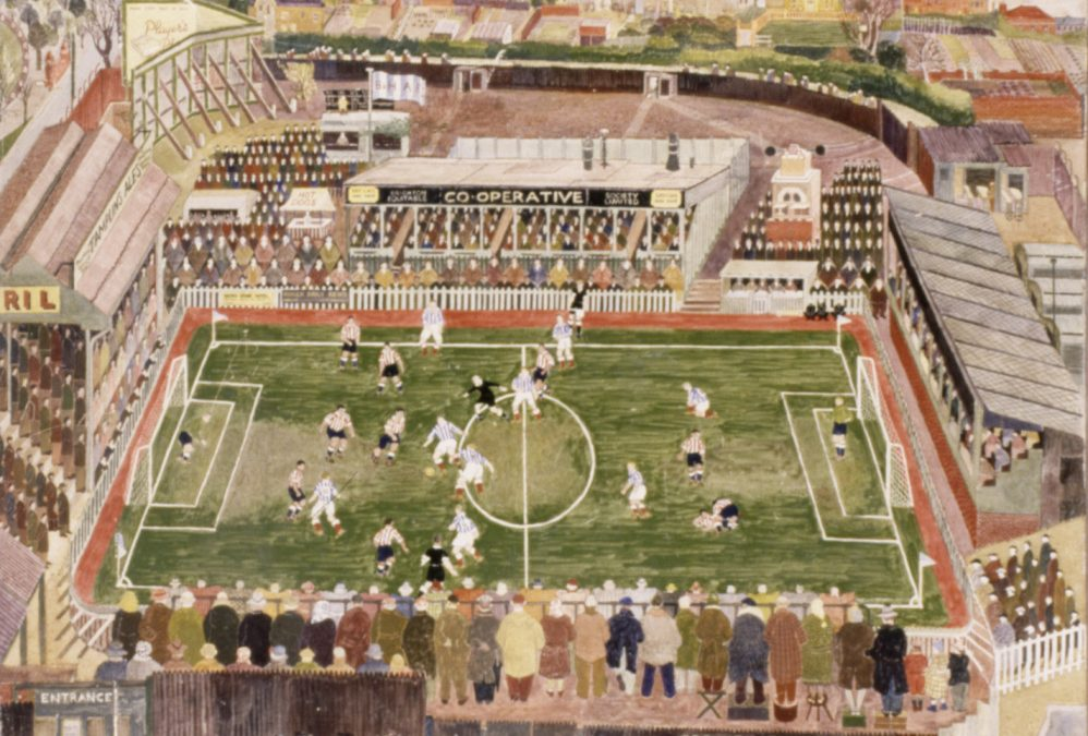 GONE GROUNDS – THE GOLDSTONE GROUND