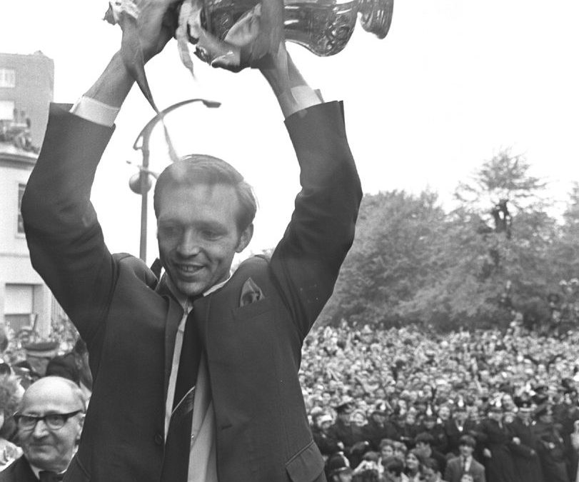 FA CUP 1967-68. ASTLE'S DAY